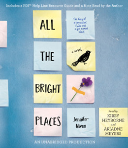 All the Bright Places:  (AudioBook) (CD) - ISBN: 9780553552195