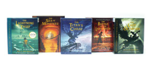 Percy Jackson and the Olympians books 1-5 CD Collection:  (AudioBook) (CD) - ISBN: 9780739352687