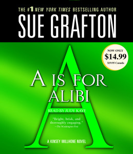 A Is For Alibi:  (AudioBook) (CD) - ISBN: 9780739357347