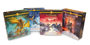 The Heroes of Olympus Books 1-4 CD Audiobook Bundle: Book One: The Lost Hero; Book Two: The Son of Neptune; Book Three: The Mark of Athena; Book Four: The House of Hades (AudioBook) (CD) - ISBN: 9781101891032