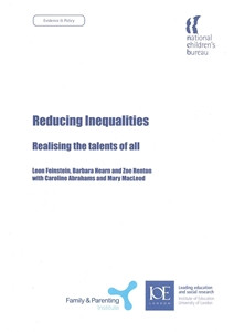 Reducing Inequalities: Realising the talents of all - ISBN: 9781905818204