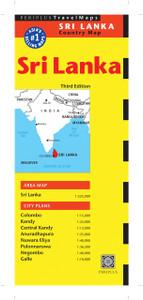 Sri Lanka Travel Map Third Edition:  - ISBN: 9780794606039