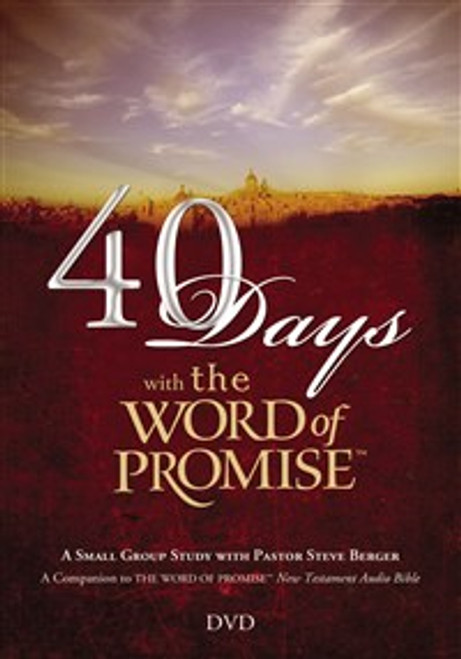40 Days with The Word of Promise DVD - ISBN: 9781418534189