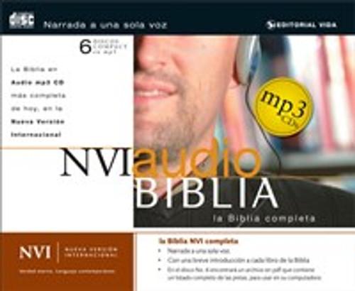 NVI Biblia audio MP3 CD - ISBN: 9780829749793