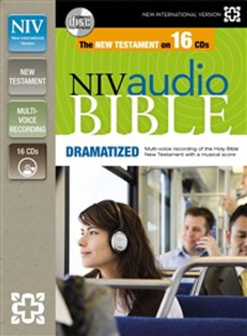 NIV, New Testament Audio Bible, Dramatized, Audio CD - ISBN: 9780310436485