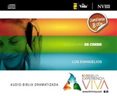 La NVI Biblia Experiencia Viva, Los Evangelios, audio CD - ISBN: 9780829759044