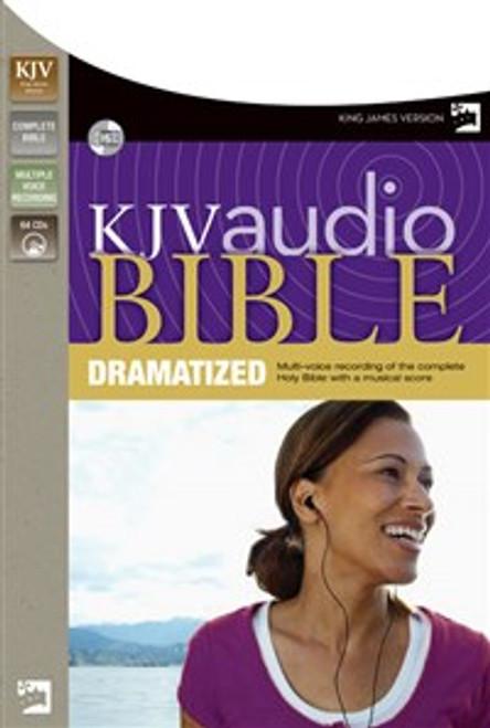 KJV, Complete Bible Dramatized, Audio CD - ISBN: 9780310936091