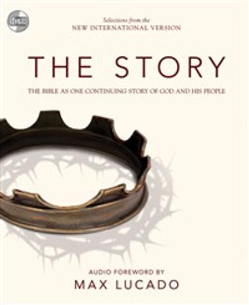 NIV, The Story, Audio CD - ISBN: 9780310421771