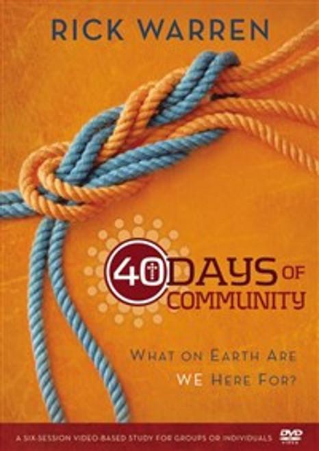 40 Days of Community Video Study - ISBN: 9780310689126