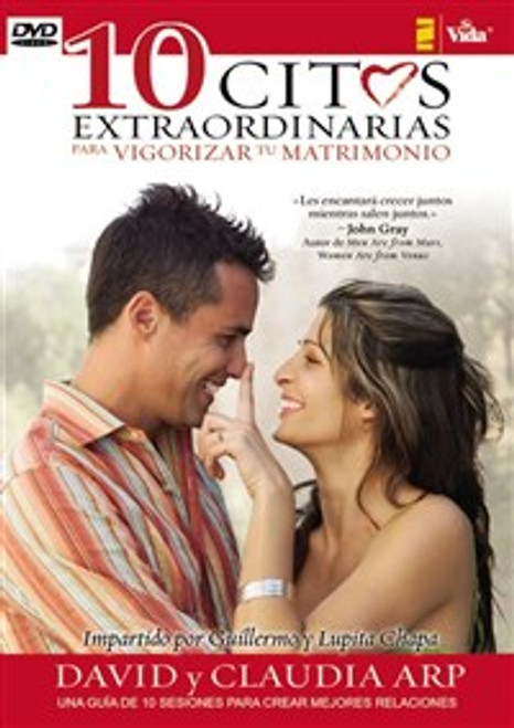 10 citas extraordinarias para vigorizar su matrimonio DVD - ISBN: 9780829755169
