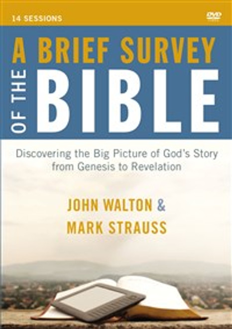 A Brief Survey of the Bible Video Study - ISBN: 9780310895886