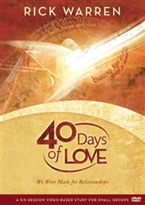 40 Days of Love - ISBN: 9780310326854