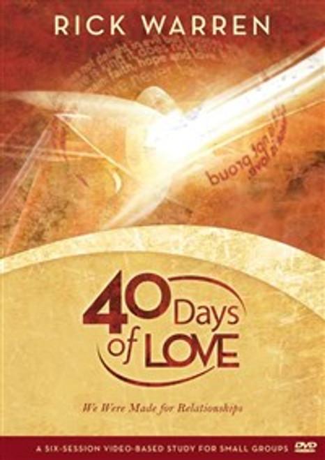 40 Days of Love - ISBN: 9780310326854