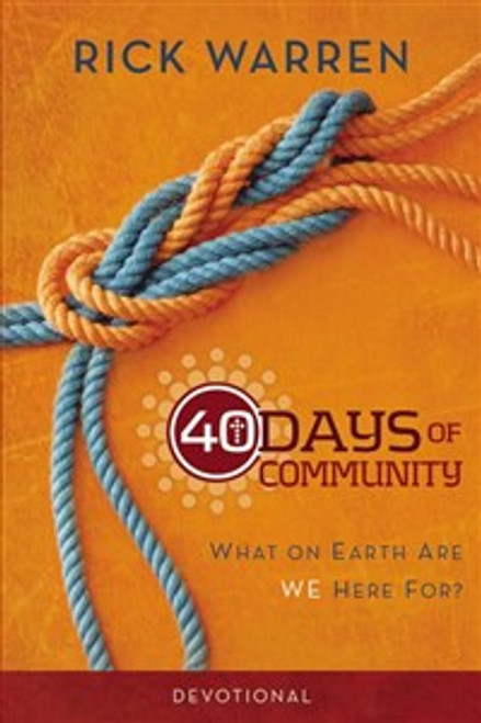 40 Days of Community Devotional - ISBN: 9780310689133