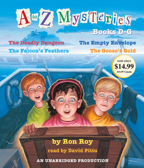 A to Z Mysteries: Books D-G:  (AudioBook) (CD) - ISBN: 9780307916327