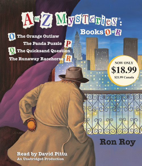 A to Z Mysteries: Books O-R:  (AudioBook) (CD) - ISBN: 9780449014073