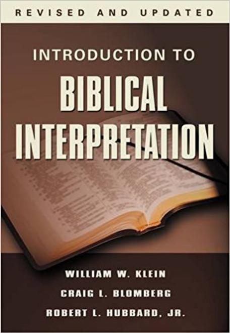 Introduction to Biblical Interpretation, Revised Edition - ISBN: 9780785252252