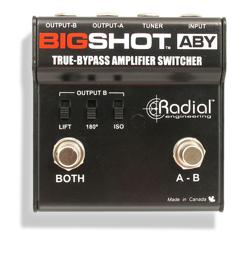 Radial Big Shot Efx