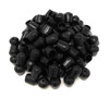 100 pack black replacement foot cap for rental and samsonite style plastic folding chairs