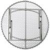 "RhinoLite 71"" (6 ft) Round Plastic Folding Table, Locking Steel Frame"