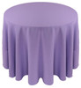 Solid Polyester Tablecloth Linen-Amethyst