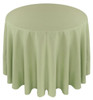 Solid Polyester Tablecloth Linen-Celadon