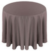 Solid Polyester Tablecloth Linen-Charcoal