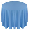 Solid Polyester Tablecloth Linen-Cornflower
