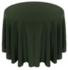 Solid Polyester Tablecloth Linen-Forest