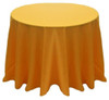 Solid Polyester Tablecloth Linen-Golden Rod
