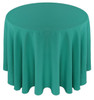 Solid Polyester Tablecloth Linen-Jade