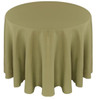 Solid Polyester Tablecloth Linen-Light Olive