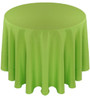 Solid Polyester Tablecloth Linen-Lime
