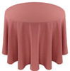 Solid Polyester Tablecloth Linen-Mauve