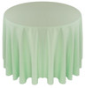 Solid Polyester Table cloth Linen-Mint
