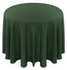 Solid Polyester Tablecloth Linen-Moss