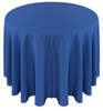 Solid Polyester Tablecloth Linen-Royal