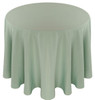 Solid Polyester Tablecloth Linen-Seafoam