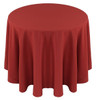 Solid Polyester Tablecloth Linen-Terracotta