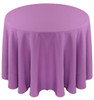 Solid Polyester Tablecloth Linen-Violet