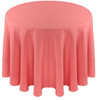 Solid Polyester Tablecloth Linen-Watermelon