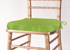 Solid Polyester Seat Cushion Cover-Lime