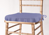 Solid Polyester Seat Cushion Cover-Periwinkle