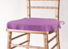 Solid Polyester Seat Cushion Cover-Violet