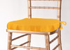 Solid Polyester Seat Cushion Cover-Sunflower