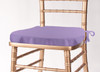 Solid Polyester Seat Cushion Cover-Amethyst