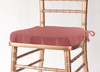 Solid Polyester Seat Cushion Cover-Mauve