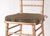 Solid Polyester Seat Cushion Cover-Olive