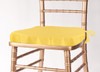 Solid Polyester Seat Cushion Cover-Lemon