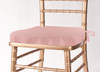 Solid Polyester Seat Cushion Cover-Light Pink